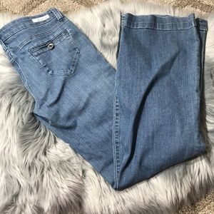 Level 99 by anthro straight leg jeans 29